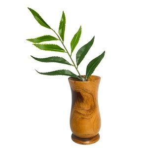 Mini Wooden Vase - Home Decor